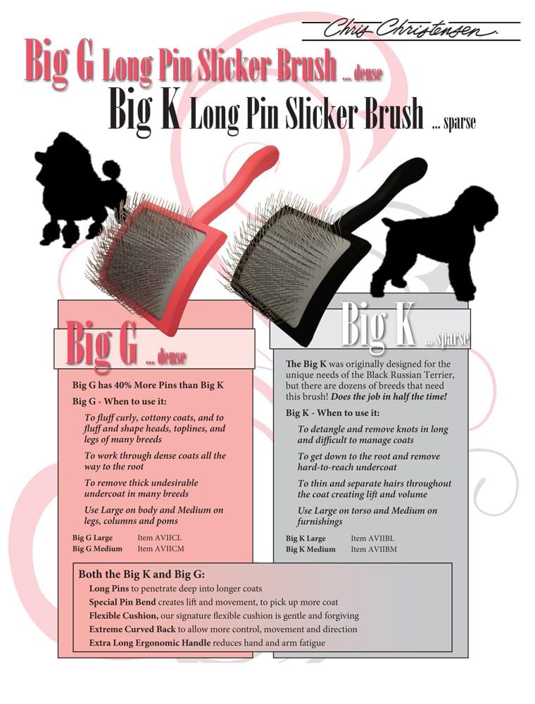 Chris Christensen Big K Slicker Brushes Baby